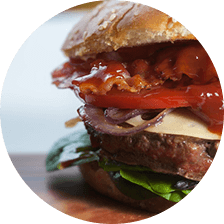 Gourmet Burgers | MoonDollars Bistro Post Falls and Twin Lakes